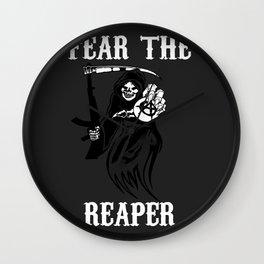 Fear the reaper Wall Clock