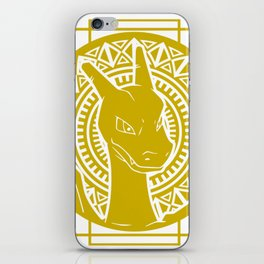 Stained Glass - Pokémon - Charizard iPhone Skin