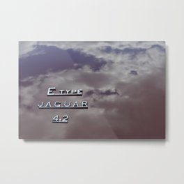 4.2 Clouds Metal Print