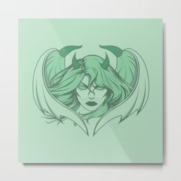 She Devil Metal Print