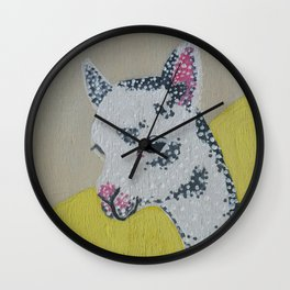 Springtime Series~ Baby Alpaca Wall Clock
