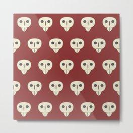 HTTYD Astrid Skulls Metal Print
