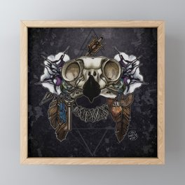 Let Us Prey: The Owl Framed Mini Art Print