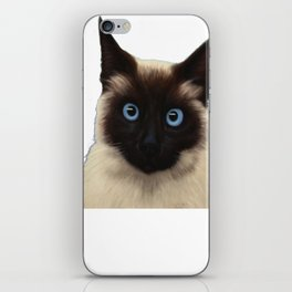 Siamese Cat Shirt - Gift For Cat Lovers iPhone Skin