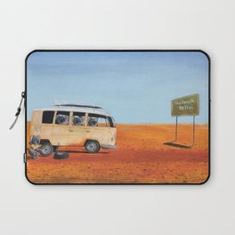 Going to the Beach Laptop Sleeve