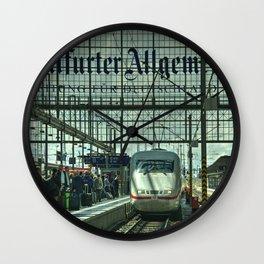 Frankfurt ICE Wall Clock