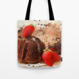 Chocolate Explosion Tote Bag