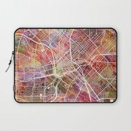 Dallas map 2 Laptop Sleeve
