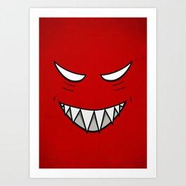 Evil Smile Art Prints Society6