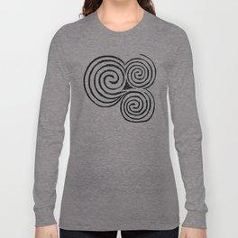 Newgrange Celtic Spiral Long Sleeve T-shirt