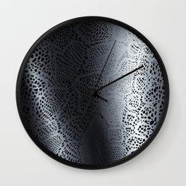 Gray Snake Skin Wall Clock