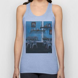 Auckland cafe #1 Unisex Tank Top