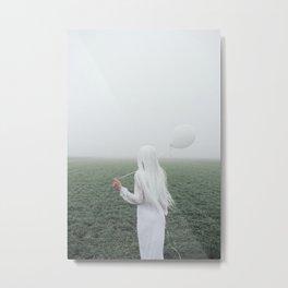 White girl Metal Print
