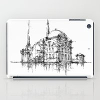 islam iPad Cases featuring Dolmabahce Mosque by Nikoloz Lekveishvili