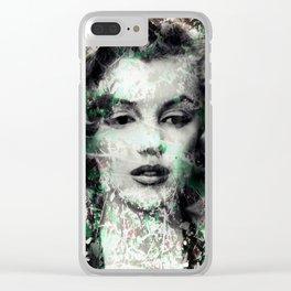 MONROE Clear iPhone Case
