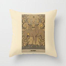 Gemini Throw Pillow