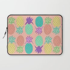 pineapple small coral Laptop Sleeve