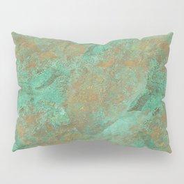 Verdigris Patched Texture Pillow Sham