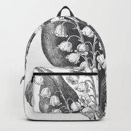 Vintage Snowdrops Backpack
