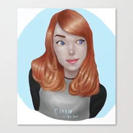 Cyarin Canvas Print