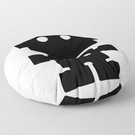 Cute Robot Floor Pillow