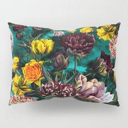 Botanical Multicolor Garden Pillow Sham