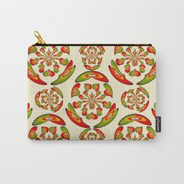 Portuguese flag pattern Carry-All Pouch