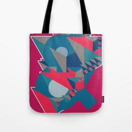 Ampersand Lost in Pyramids Tote Bag