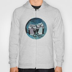 Owls In Moonlight Hoody