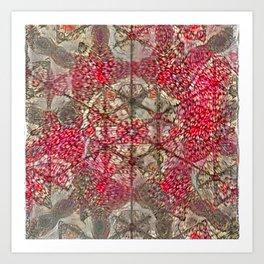 Abstruse Nutty Net Art Print