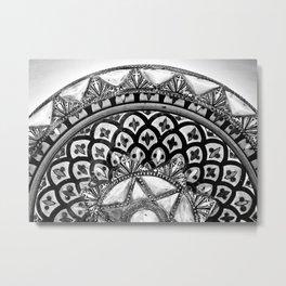 Moroccan Bowl Metal Print