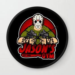 Jacon's Gym Wall Clock