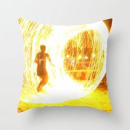 Fire Chamber 1 Throw Pillow