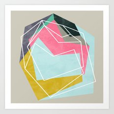 Fill & Stroke Art Print