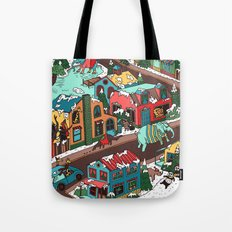 This Place is a Zoo! Tote Bag