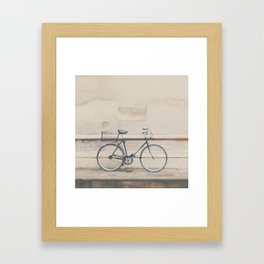 a very masculine bicycle Framed Art Print