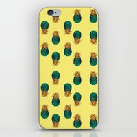 pineapples iPhone & iPod Skins featuring PINEAPPLES by Heaven7