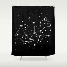 Bobcaygeon Bear Shower Curtain