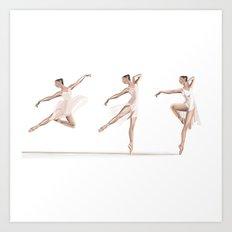 Ballet Dance Moves Art Print