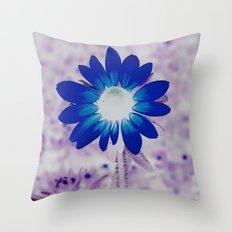 bolt of blue Throw Pillow
