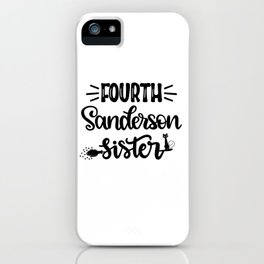 Fourth Sanderson Sister iPhone Case