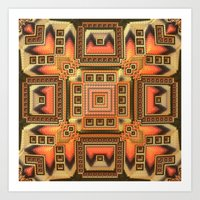 blanket Art Prints featuring Cozy Blanket by Lyle Hatch