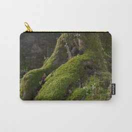 Ancient tree root with moss Carry-All Pouch