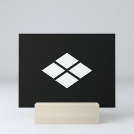 Takeda Clan · White Mon Mini Art Print