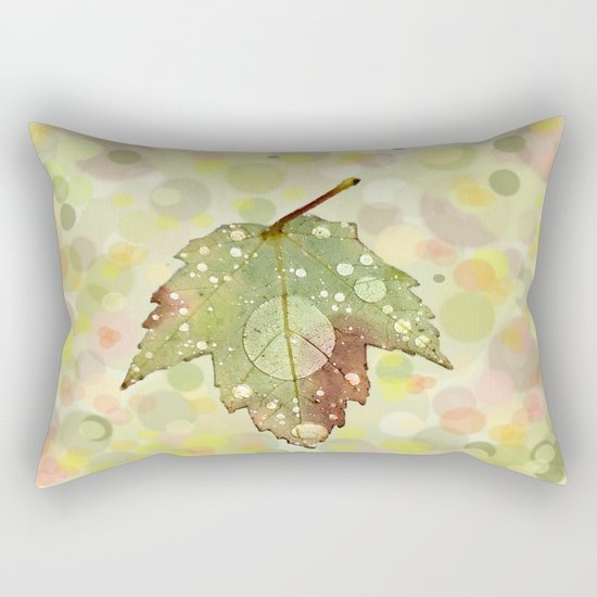 Just Leaf in Peace Rectangular Pillow