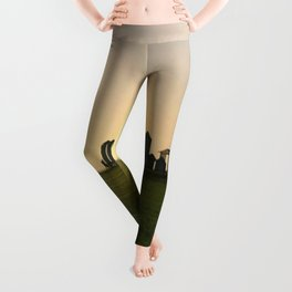 Wheat Silos Leggings