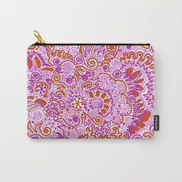 Pink + Orange = YES Carry-All Pouch