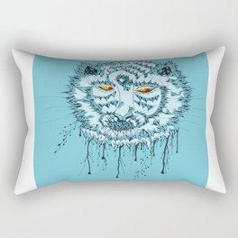 Tiger of Artist Rectangular Pillow