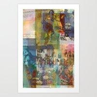 diana cas3 Art Print