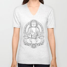 Gautama Buddha Unisex V-Neck